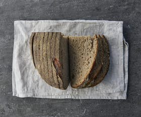 Sliced Organic Stoneground Flour Sourdough (Pagnotta)