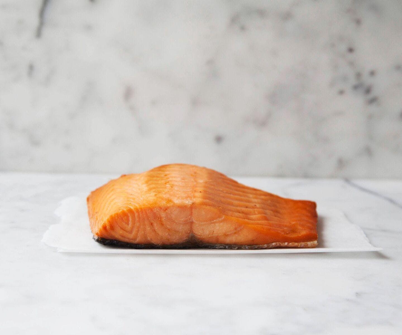 Double Hot Smoked Salmon
