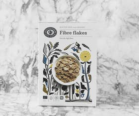 Organic Gluten Free Fibre Flakes Cereal