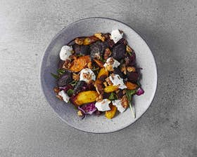 Goats Cheese, Beetroot & Lentil Salad
