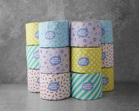 100% Recycled Toilet Roll (1 Box of 48)