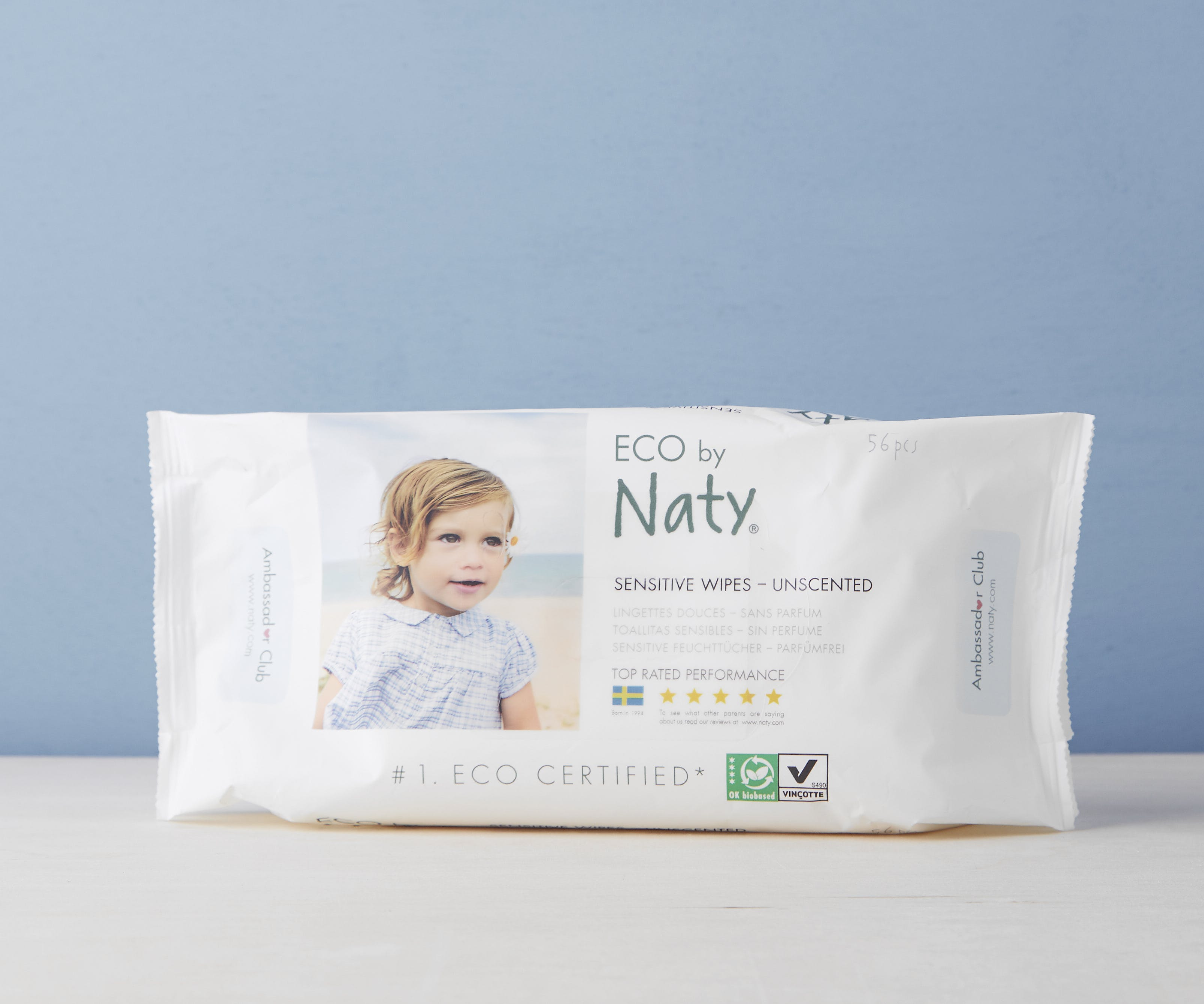 Sensitive Fragrance Free Wipes