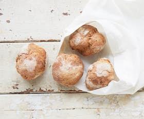 Gluten Free Rye Sourdough Rolls