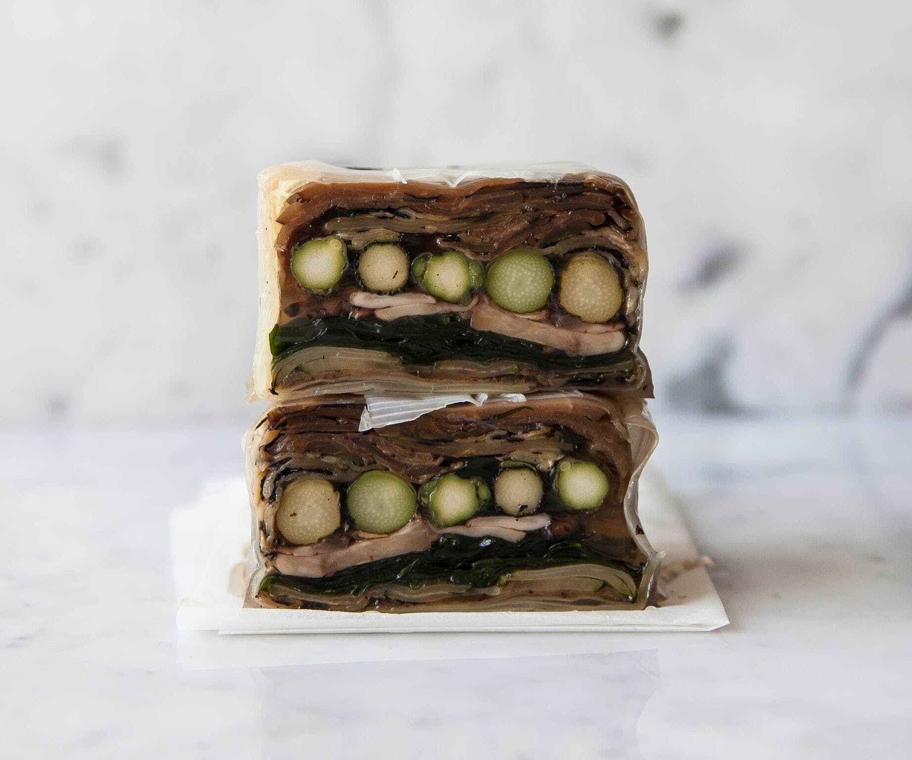 Layered Vegetarian Terrine