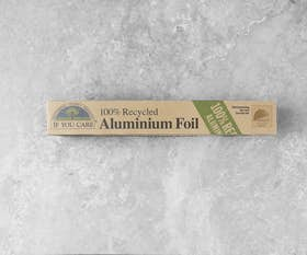 100% Recycled Aluminium Foil