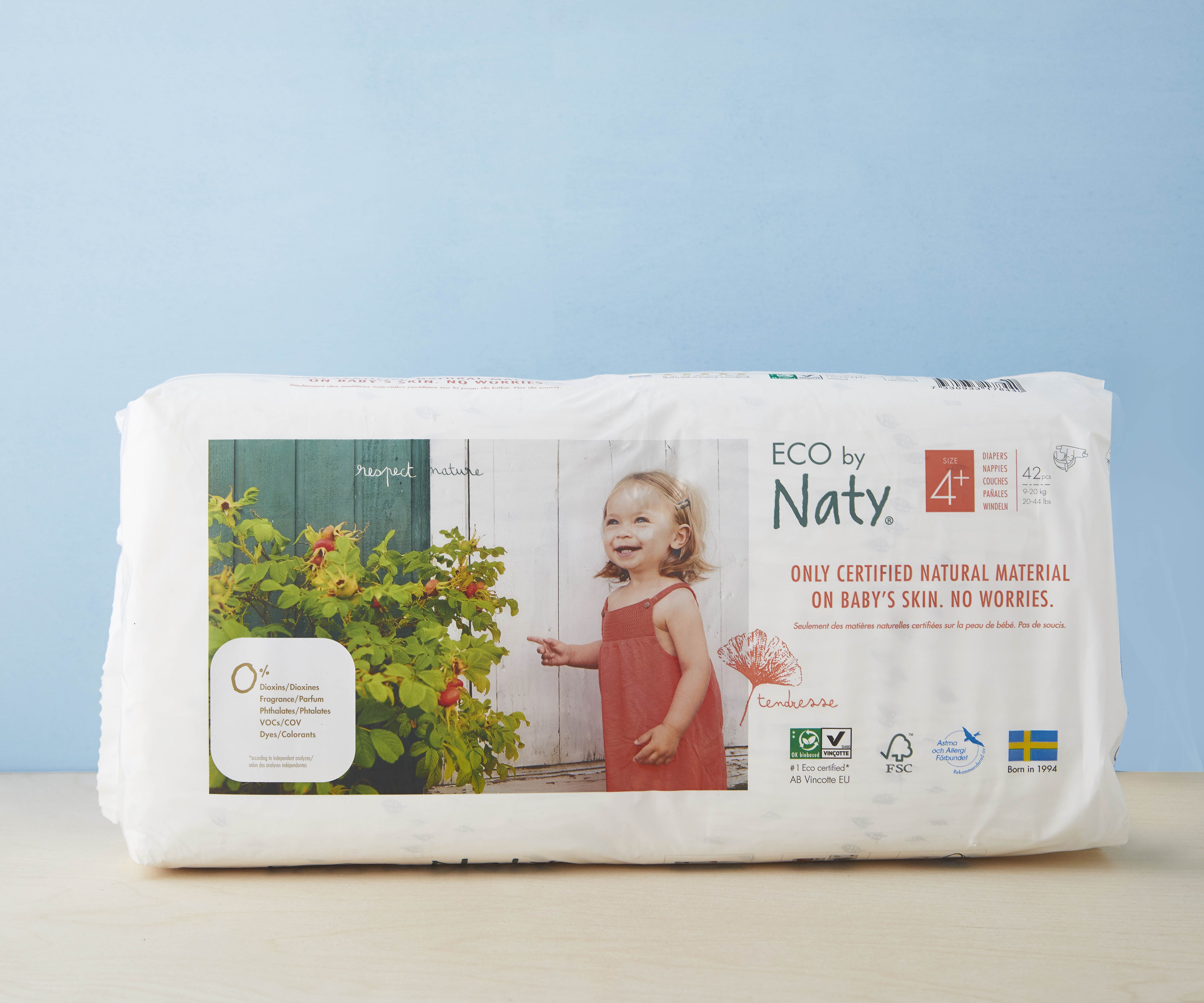 Nappies - Size 4+ (9 -20 kg)