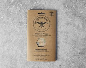 Large Beeswax Wrap - Beehive