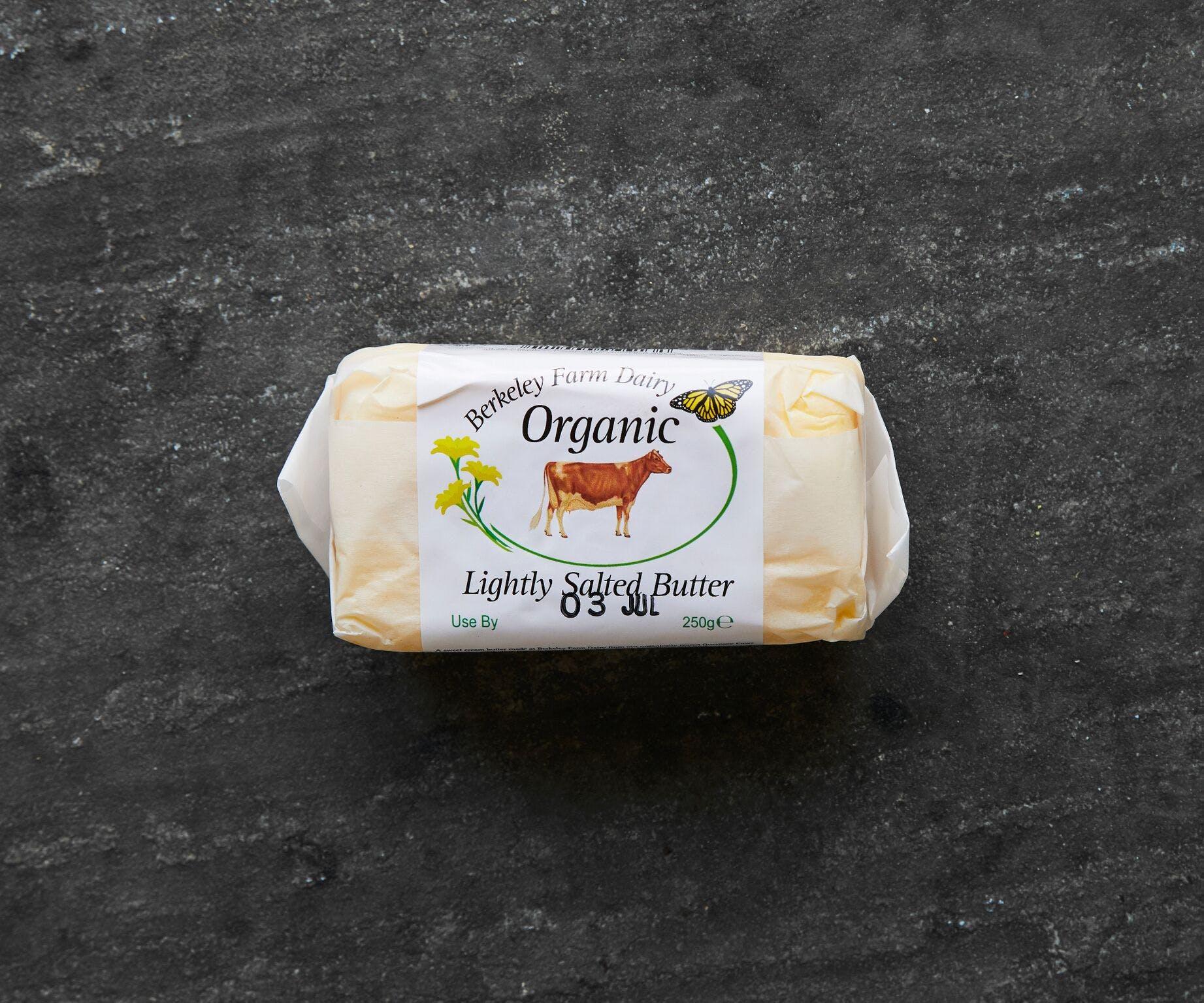 Organic Lightly Salted Butter (Handmade)