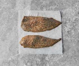 Smoked Peppered Mackerel
