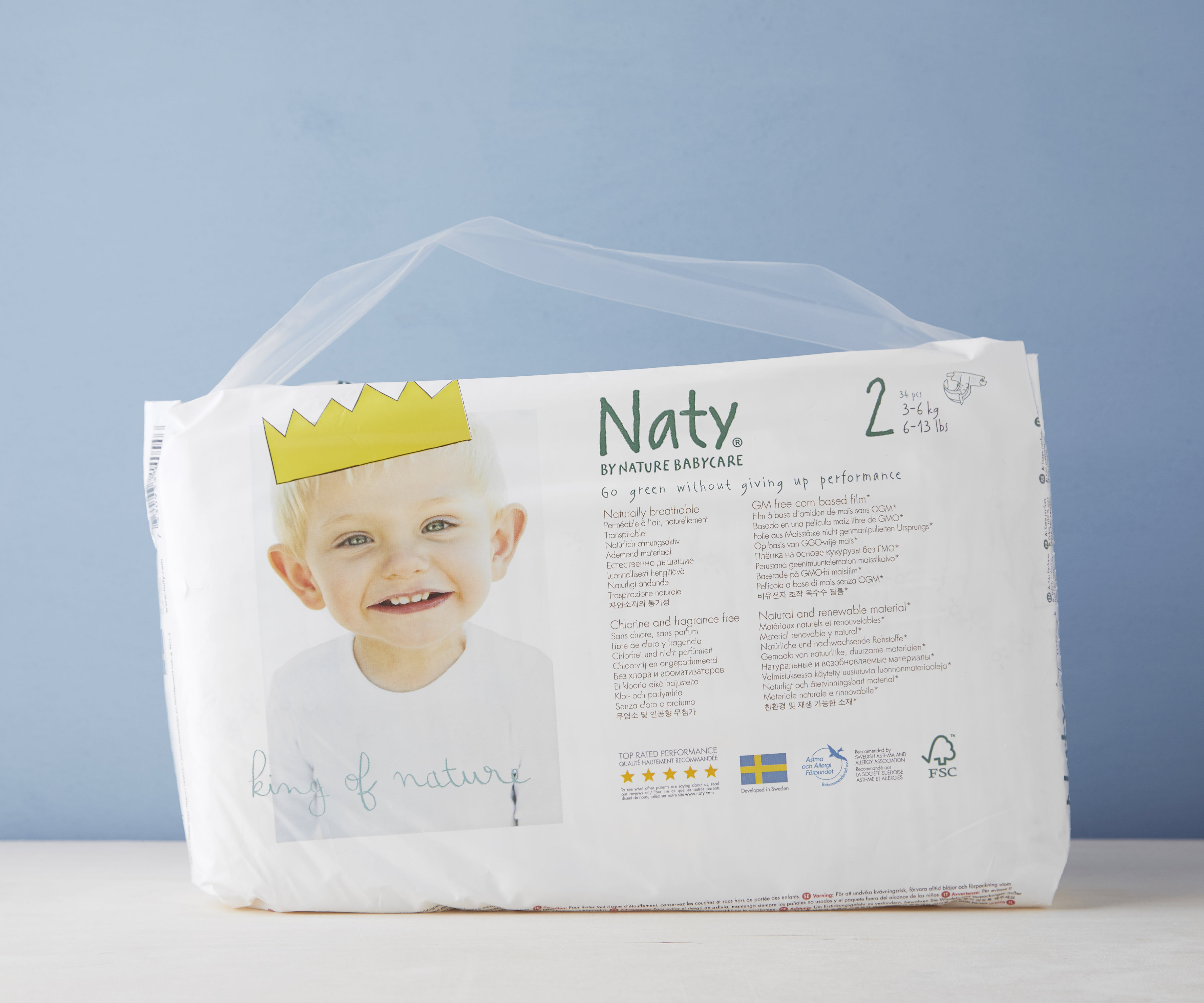 Extra Small Nappies Size 2 (3-6kg)