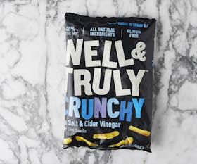 Well&Truly Crunchy Sea Salt & Cider Vinegar