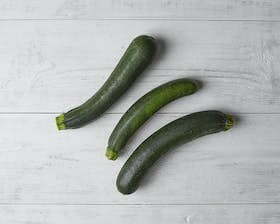Organic Green Courgettes