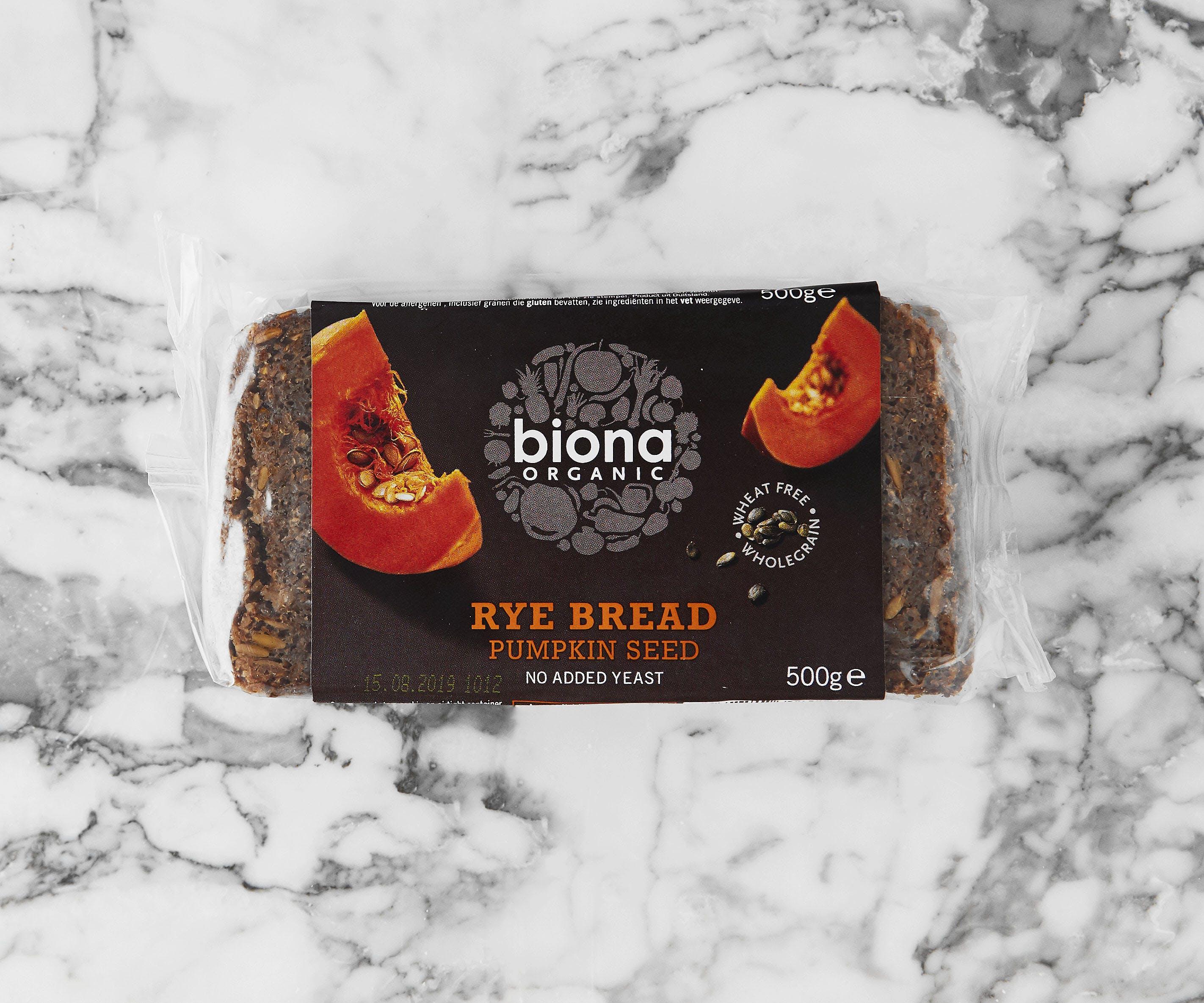 Organic Rye Bread - Pumpkin Seed