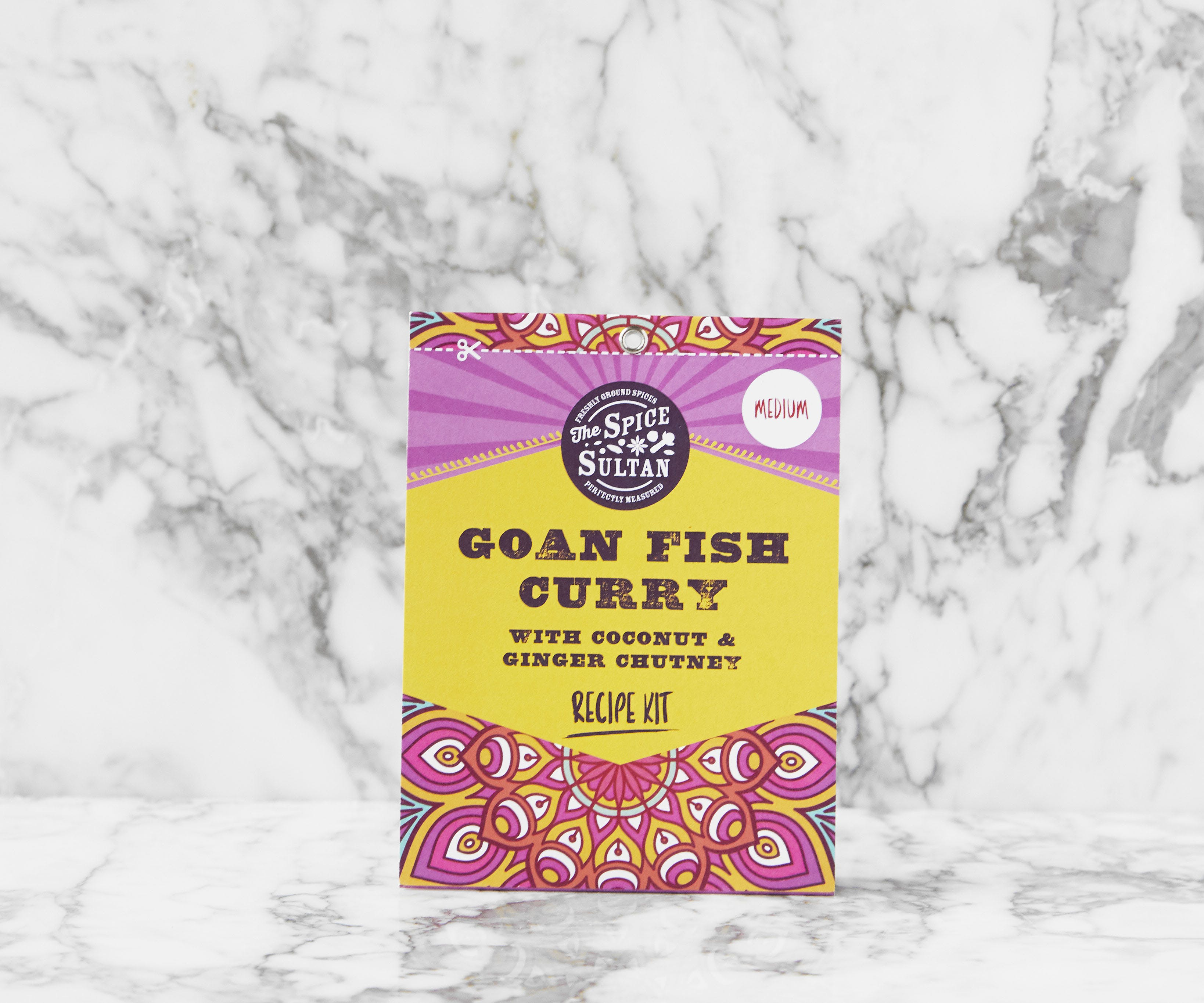 Recipe Kit - Goan Fish Curry With Coconut & Ginger Chutney