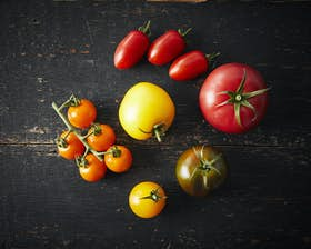 Organic Mixed Heritage Tomatoes