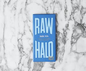 Raw Halo Dark 76% Chocolate