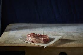 Woodland Raised Welsh Black Pork Leg Steak