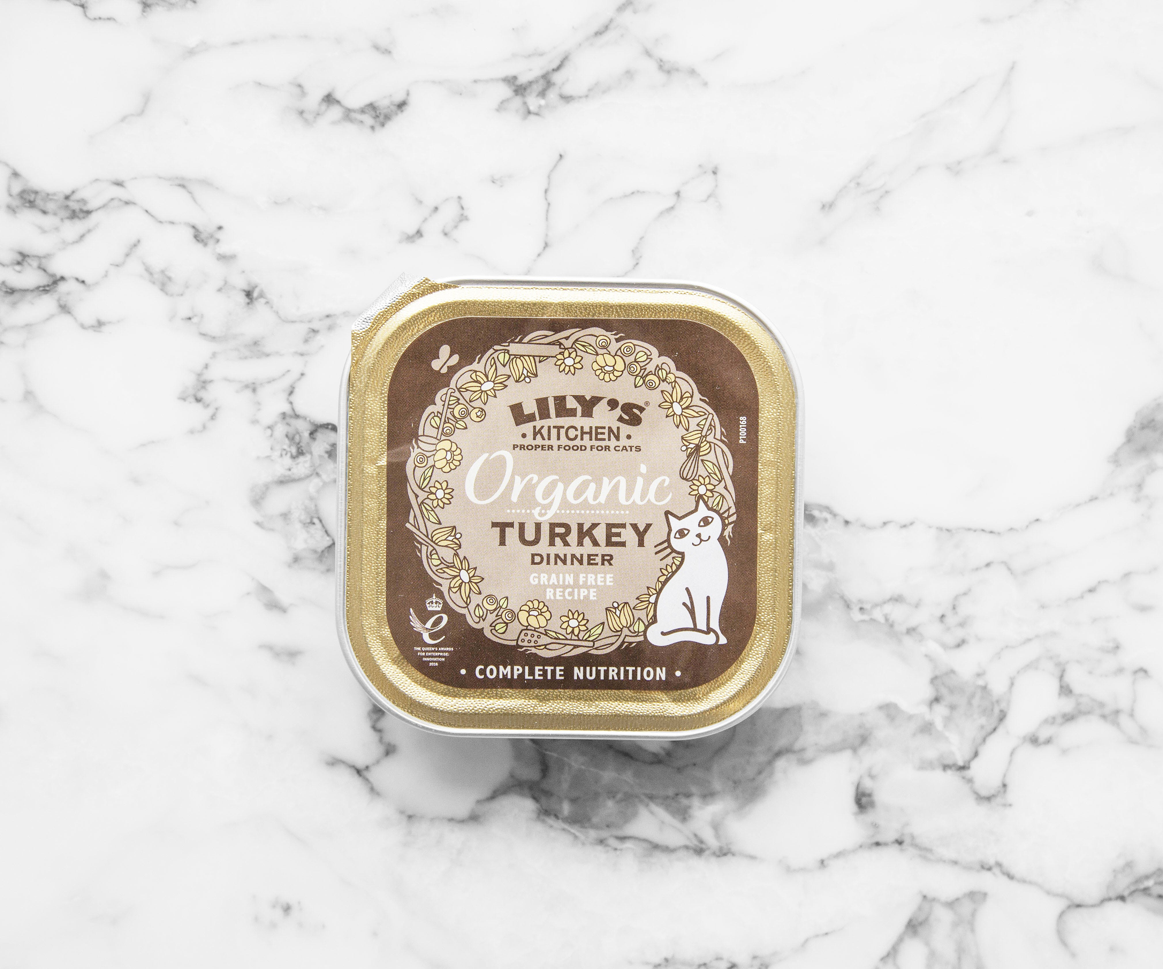 Organic Turkey Dinner for Cats