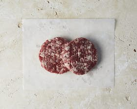 100% Pasture Fed Dry Aged Beef Burgers 6 oz
