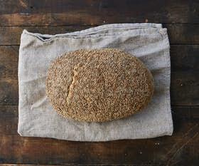 Organic Seeded Sourdough Oval