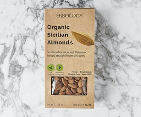 Organic Sicilian Almonds (Raw)