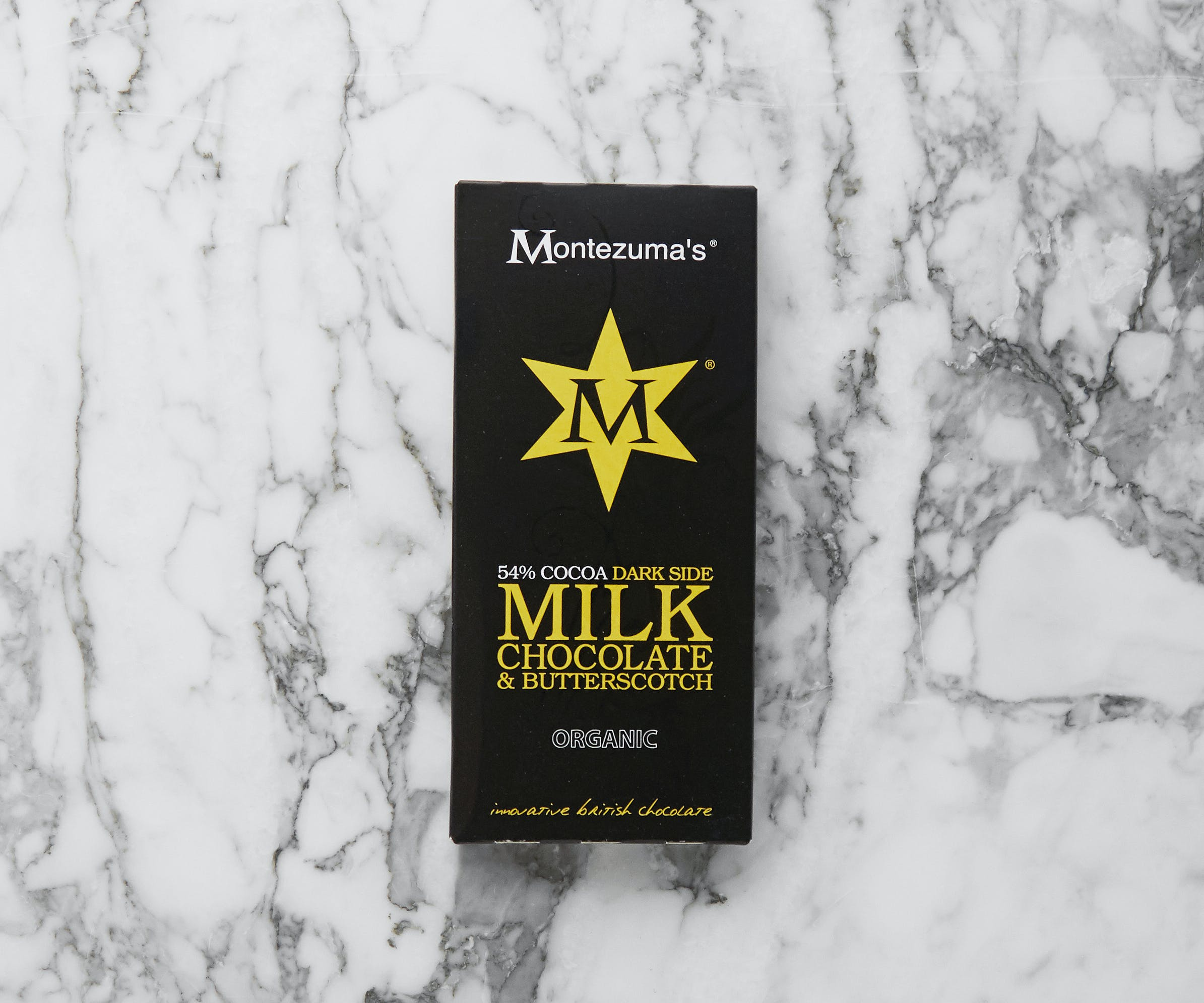 Organic Milk Chocolate & Butterscotch Bar