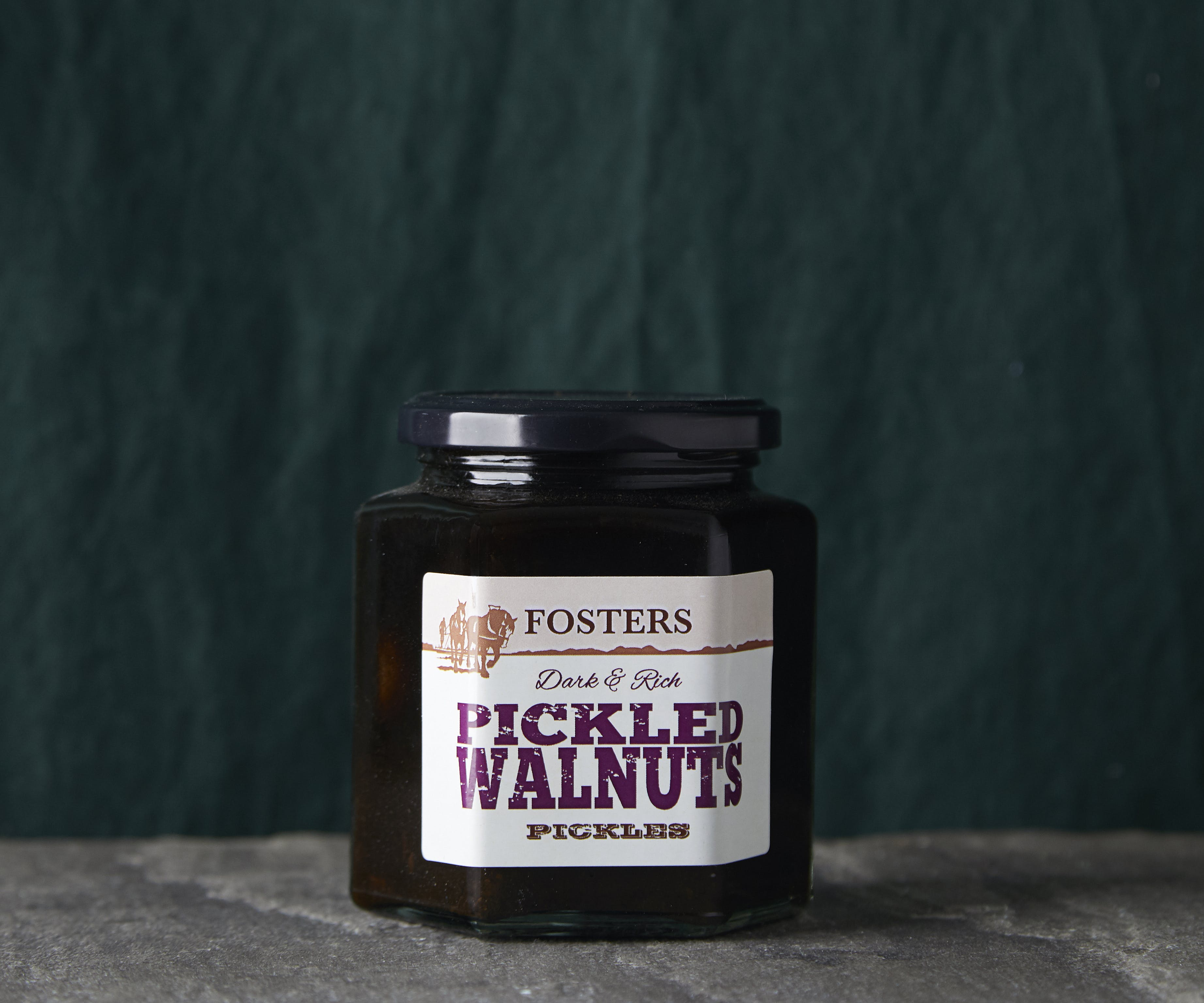 Pickled Walnuts for Cheese