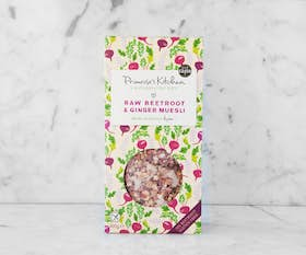 Organic Raw Beetroot & Ginger Muesli