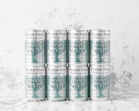 Refreshingly Light Elderflower Tonic Water, Fridge Pack