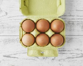 Pasture Raised Freckled Brown Eggs (Mixed)