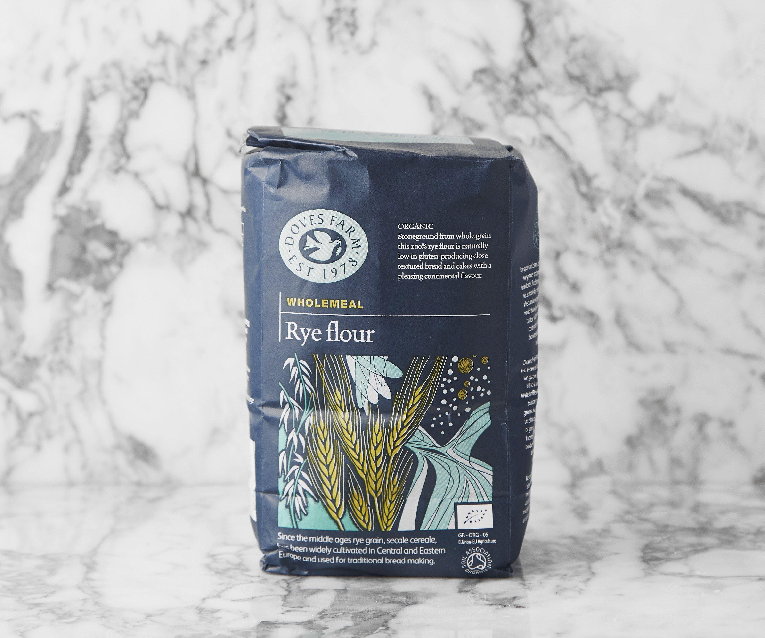 Organic Wholemeal Rye Flour