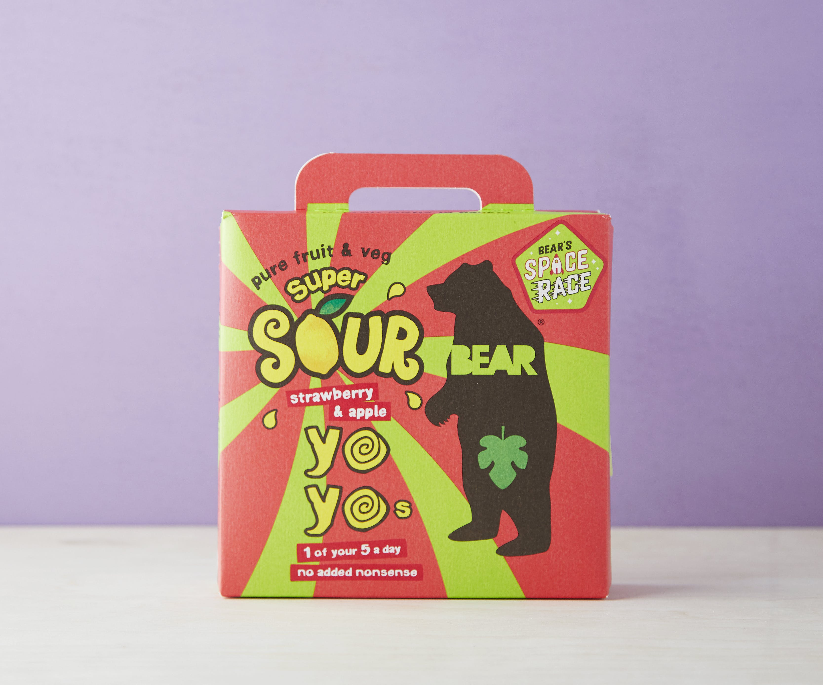 Fruit Yoyo Multipack - Super Sour Strawberry & Apple