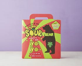 Fruit Yoyo Multipack - Super Sour Strawberry & Apple