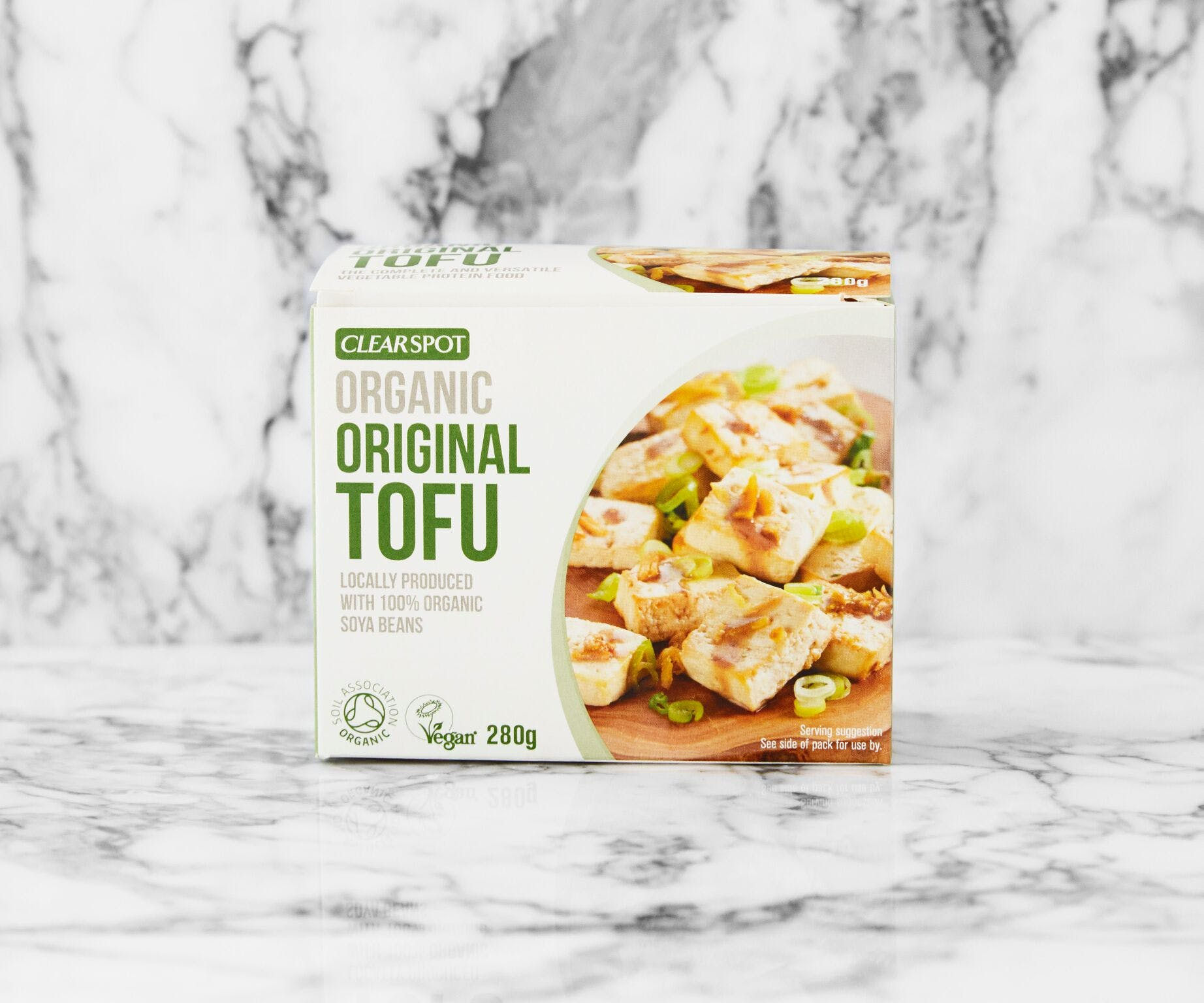Organic Clear Spot Plain Fresh Tofu
