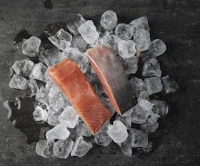 Wild Alaskan Keta Salmon Fillets