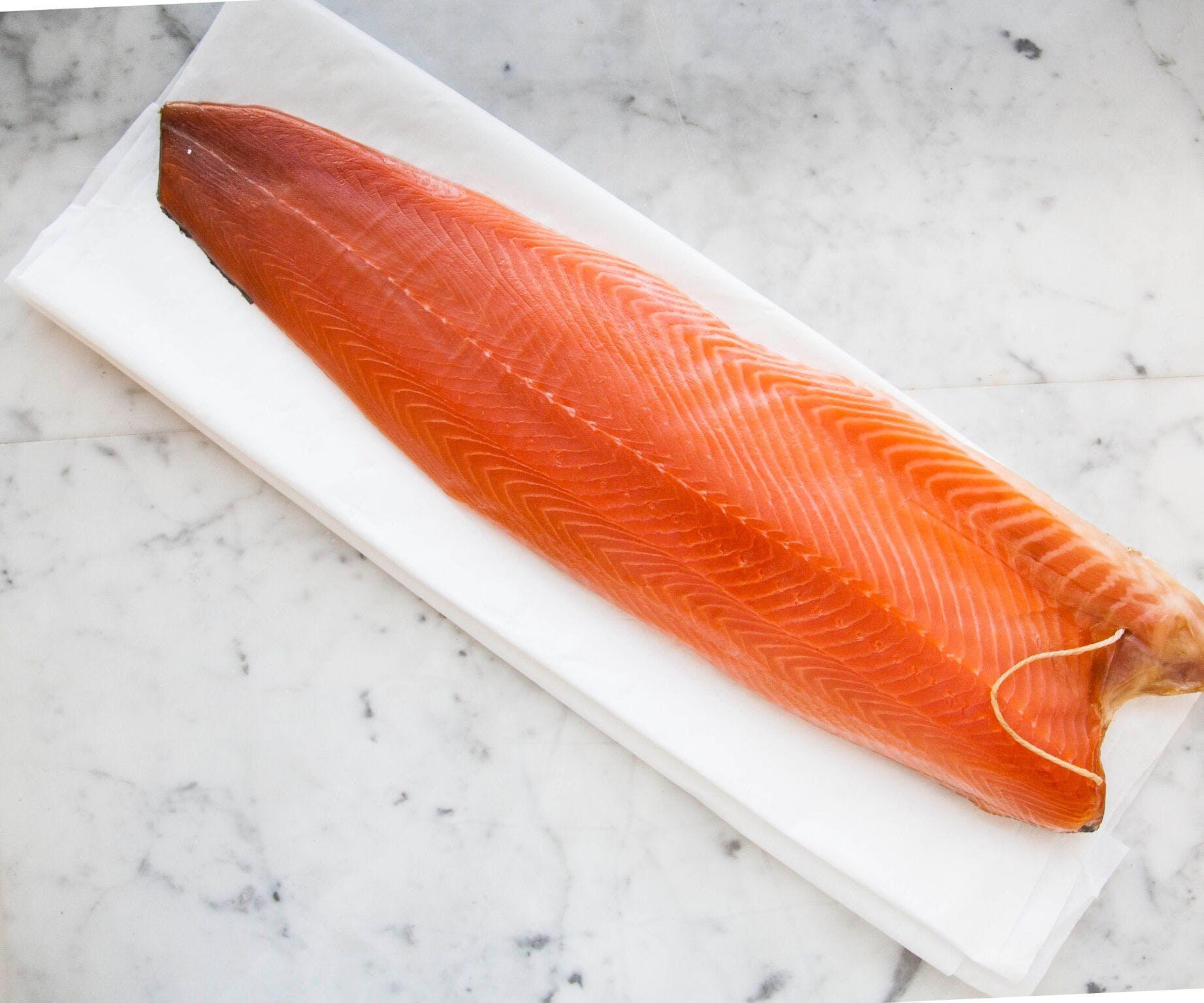 London Cure Salmon Side
