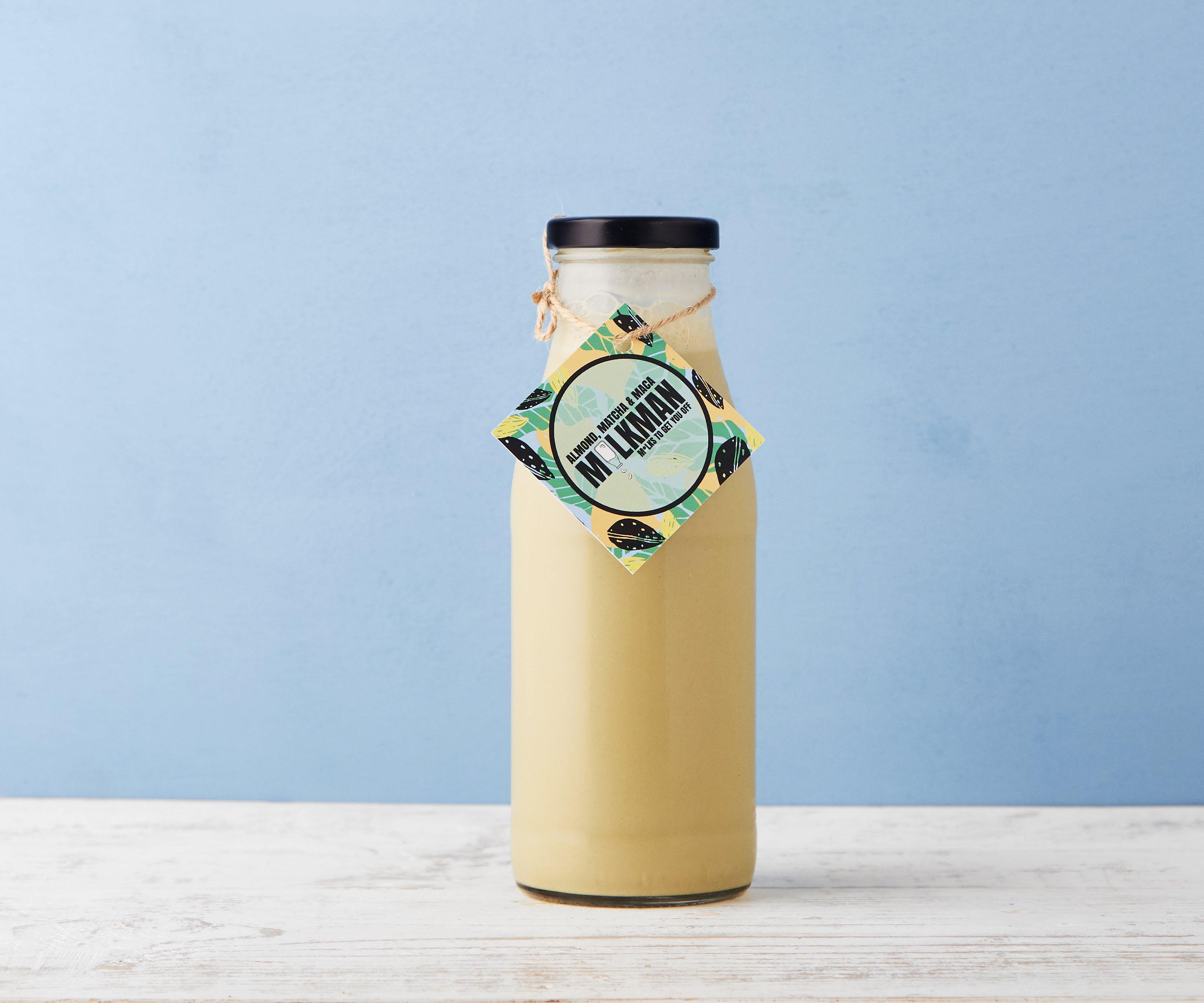 Organic Almond, Matcha & Maca M*lk
