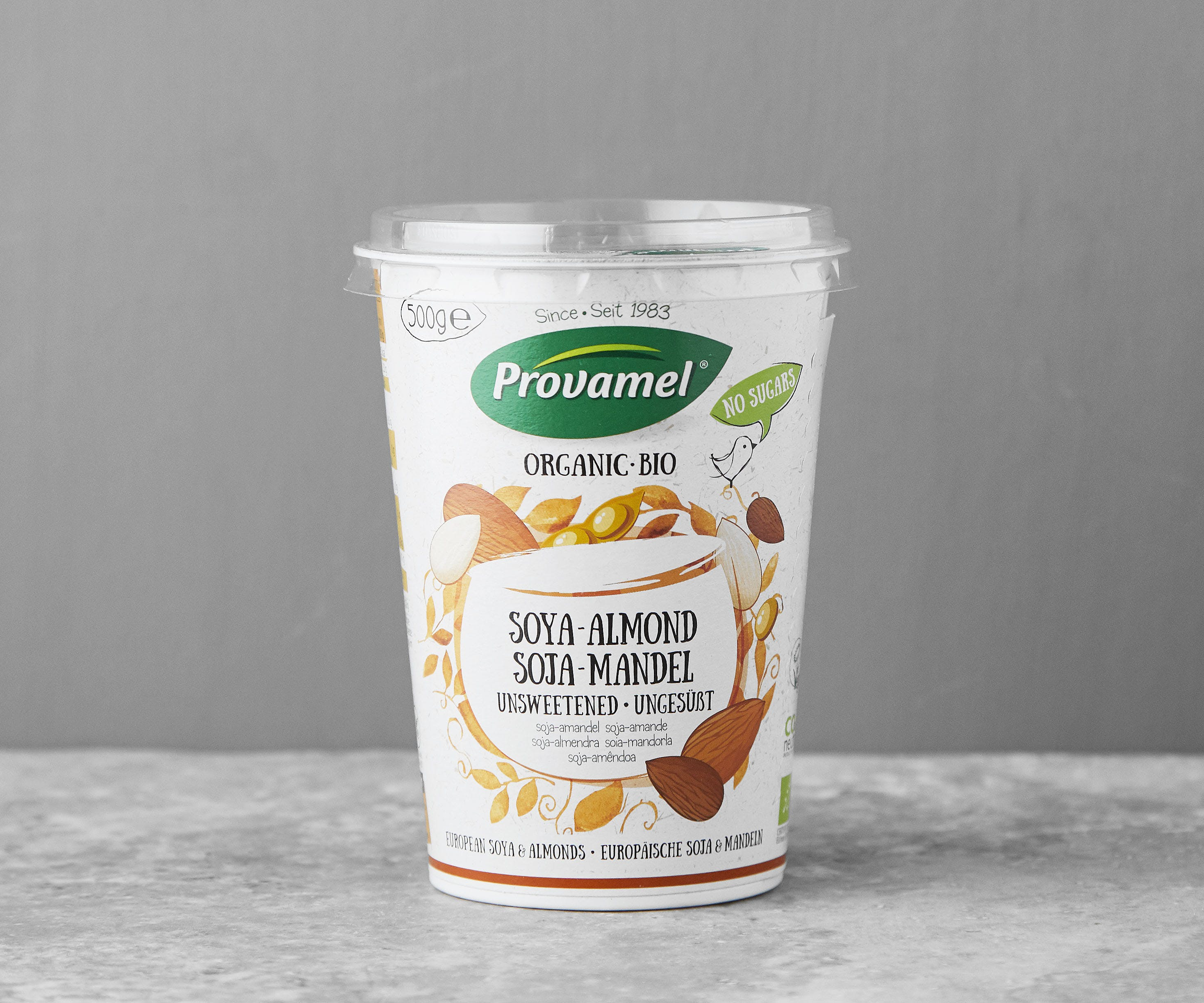 Organic Soya Almond Yoghurt
