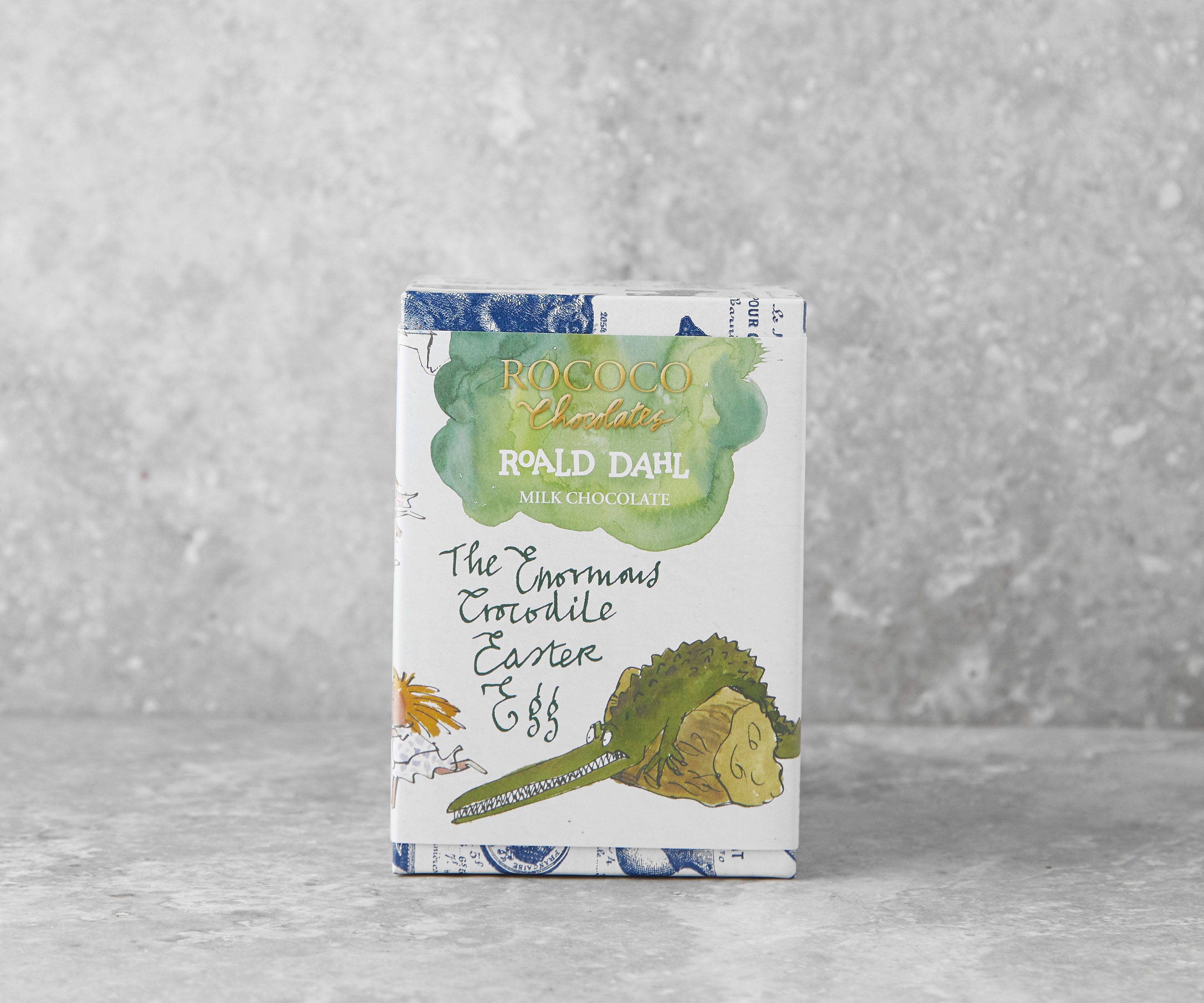 "Roald Dahl  ""Enormous Crocodile"" Easter Egg with Mini Salted Crocodiles"