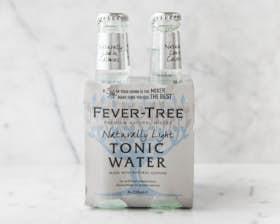 Refreshingly Light Tonic Water